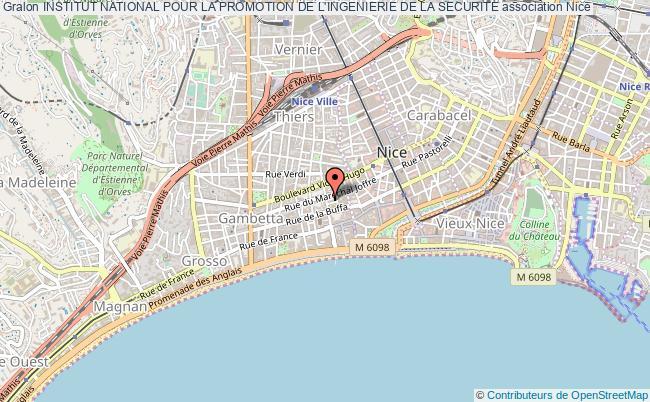 plan association Institut National Pour La Promotion De L'ingenierie De La Securite