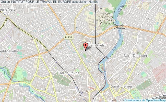 plan association Institut Pour Le Travail En Europe