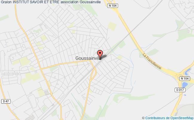 plan association Institut Savoir Et Etre Goussainville