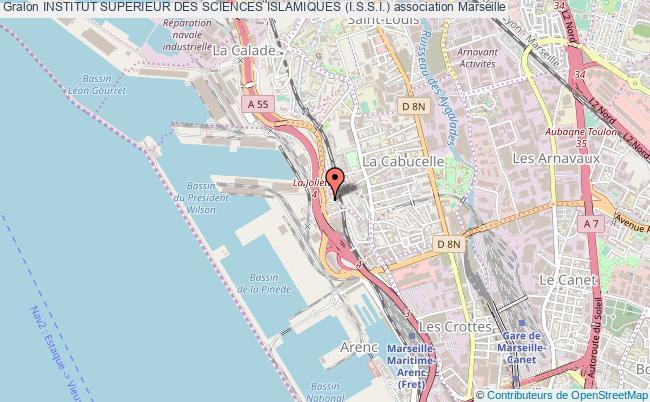 plan association Institut Superieur Des Sciences Islamiques (i.s.s.i.) Marseille