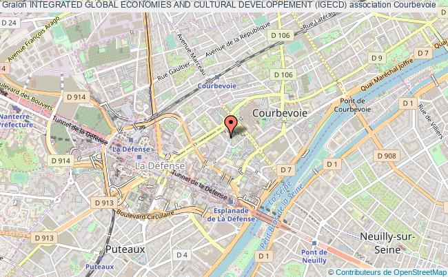 plan association Integrated Global Economies And Cultural Developpement (igecd) Courbevoie