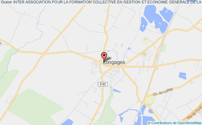 plan association Inter Association Pour La Formation Collective En Gestion Et Economie Generale De La Haute Garonne (inter Afocg 31) Longages