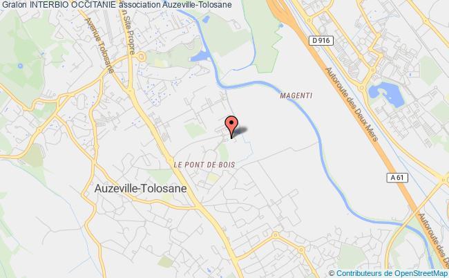 plan association Interbio Occitanie Auzeville-Tolosane