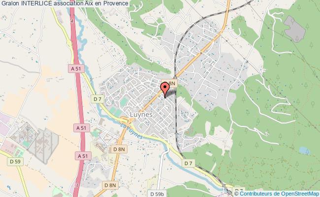plan association Interlice Aix en Provence