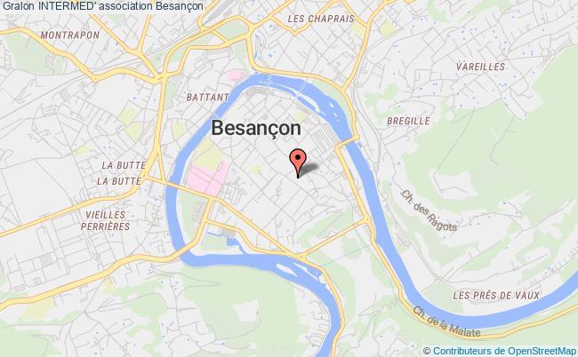 plan association Intermed' Besançon