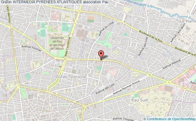plan association Intermedia Pyrenees Atlantiques