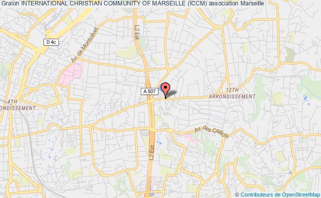 plan association International Christian Community Of Marseille (iccm)