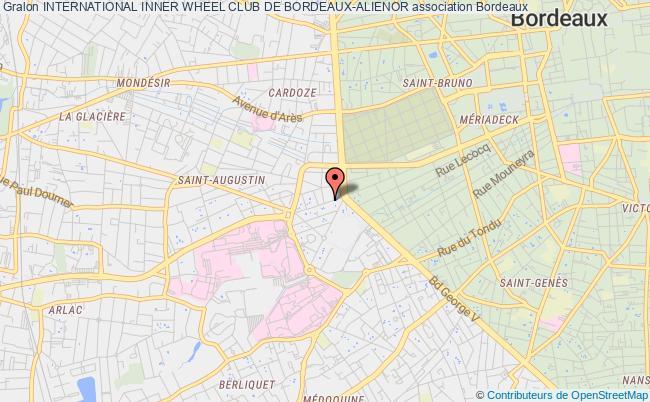 plan association International Inner Wheel Club De Bordeaux-alienor Bordeaux