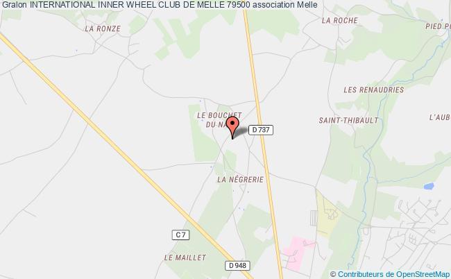 plan association International Inner Wheel Club De Melle 79500