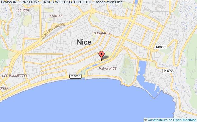 plan association International Inner Wheel Club De Nice