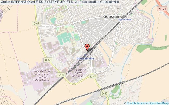 plan association Internationale Du Systeme Jip (f.i.d. J.i.p) Goussainville