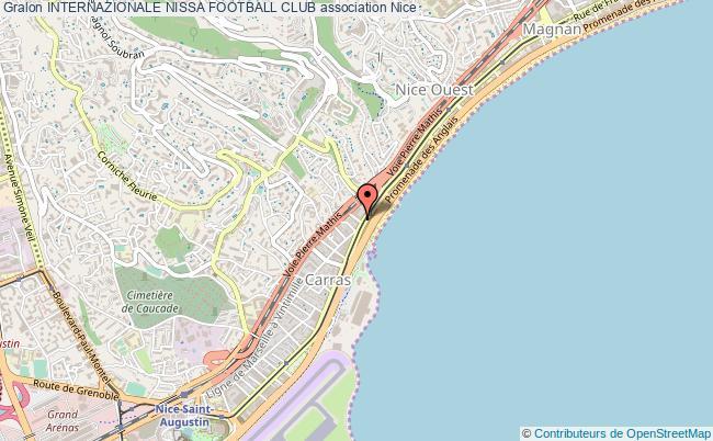 plan association Internazionale Nissa Football Club Nice