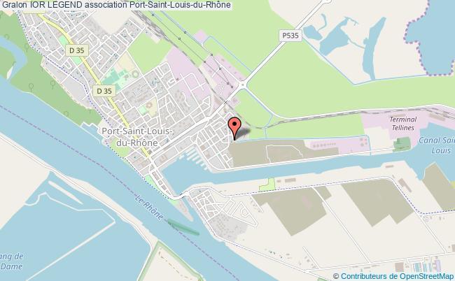 plan association Ior Legend Port-Saint-Louis-du-Rhône