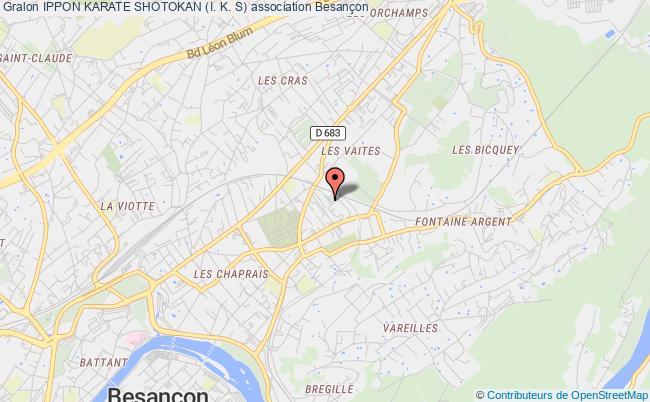 plan association Ippon Karate Shotokan (i. K. S) Besançon