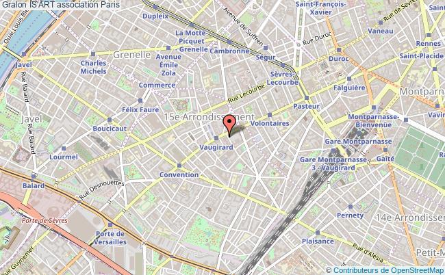 plan association Is'art Paris 15e