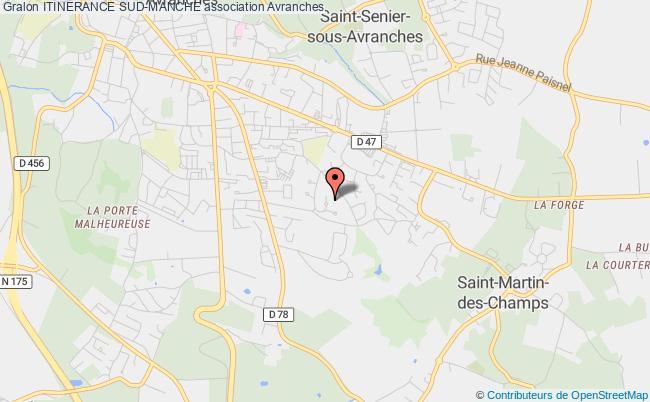 plan association Itinerance Sud-manche