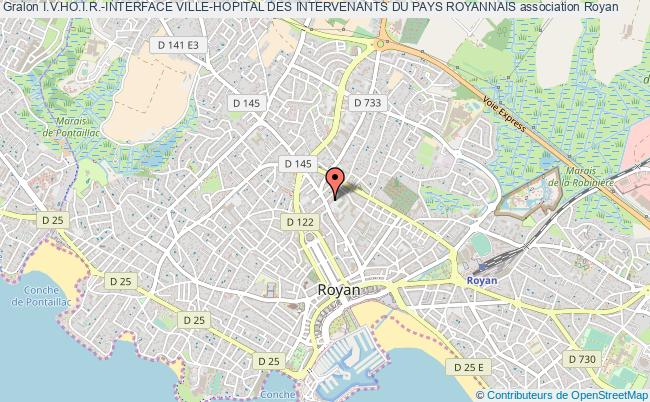 plan association I.v.ho.i.r.-interface Ville-hopital Des Intervenants Du Pays Royannais Royan