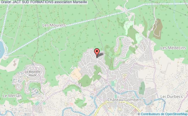 plan association Jact Sud Formations Marseille