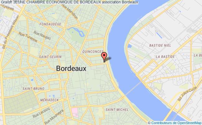 plan association Jeune Chambre Economique De Bordeaux