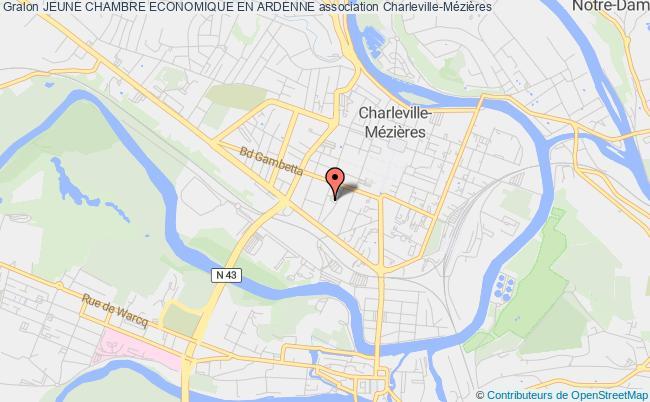 plan association Jeune Chambre Economique En Ardenne