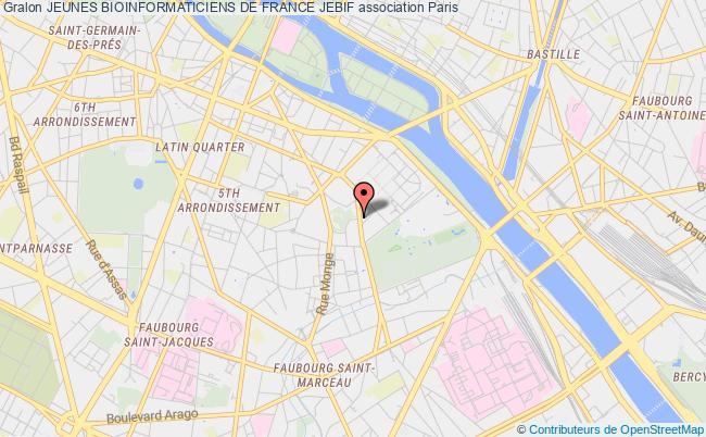 plan association Jeunes Bioinformaticiens De France Jebif