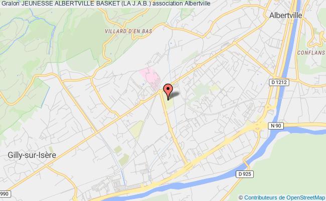 plan association Jeunesse Albertville Basket (la J.a.b.)