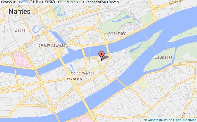 plan association Jeunesse Et Vie Nantes (jev Nantes)