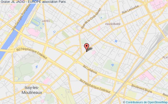 plan association Jil Jadid - Europe Paris