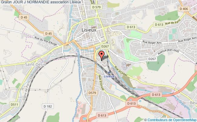 plan association Jour J Normandie