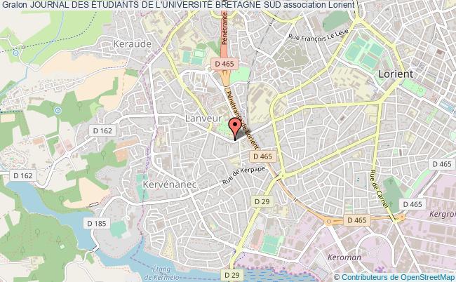 plan association Journal Des Étudiants De L'universitÉ Bretagne Sud