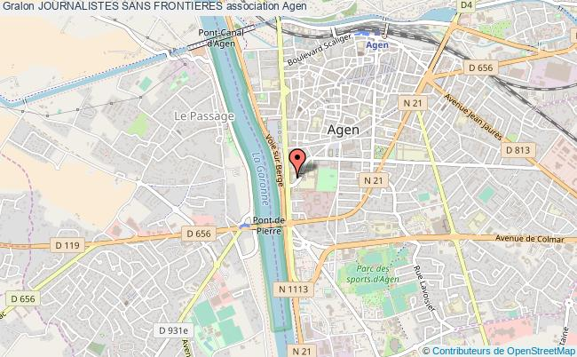 plan association Journalistes Sans Frontieres