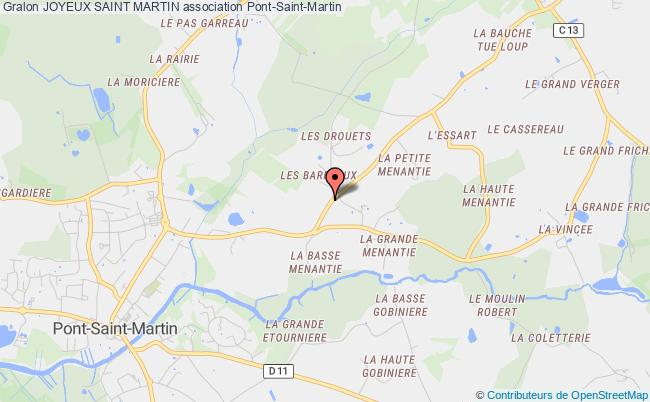 plan association Joyeux Saint Martin