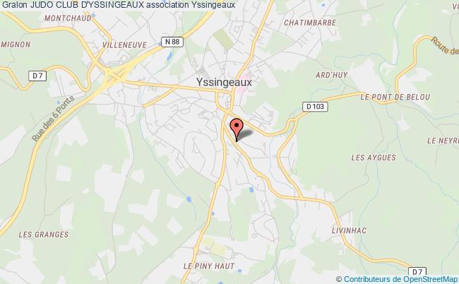 plan association Judo Club D'yssingeaux Yssingeaux