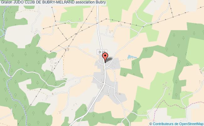 plan association Judo Club De Bubry-melrand Bubry