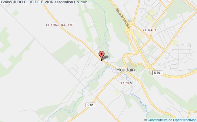 plan association Judo Club De Divion