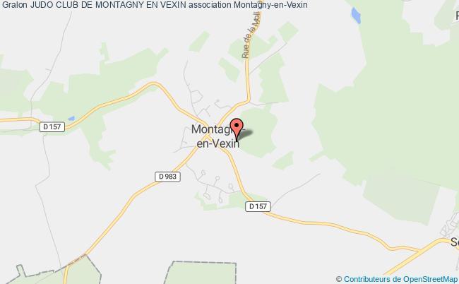 plan association Judo Club De Montagny En Vexin Montagny-en-Vexin