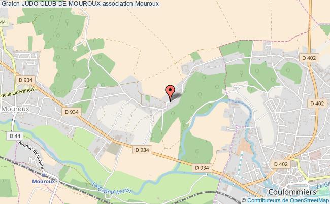 plan association Judo Club De Mouroux Mouroux