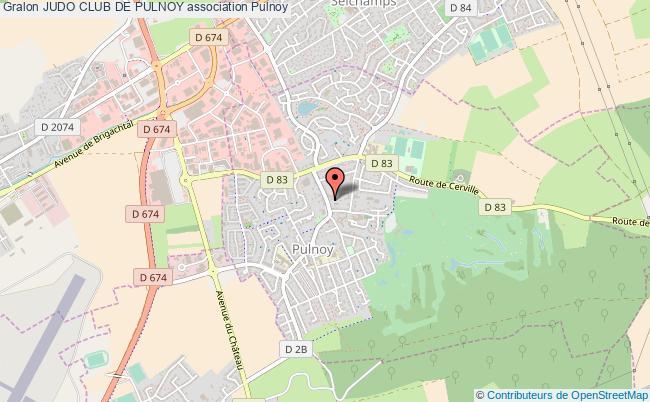 plan association Judo Club De Pulnoy Pulnoy