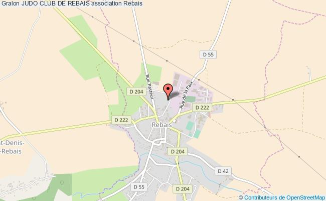 plan association Judo Club De Rebais Rebais