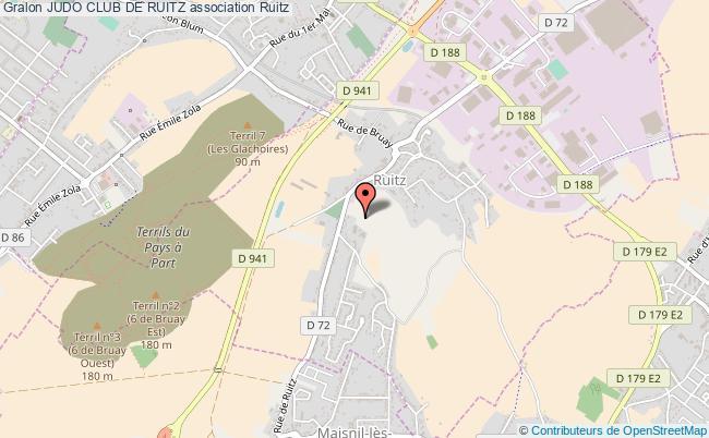 plan association Judo Club De Ruitz