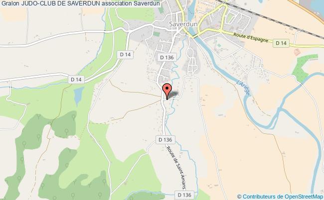 plan association Judo-club De Saverdun