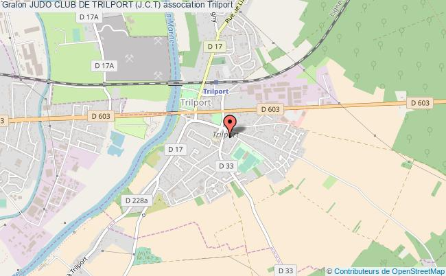plan association Judo Club De Trilport (j.c.t)