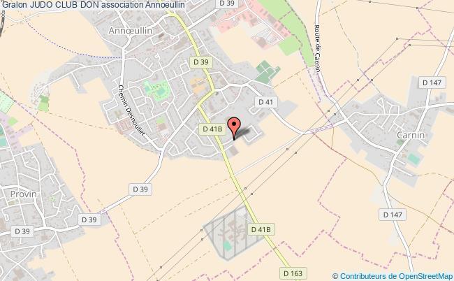 plan association Judo Club Don