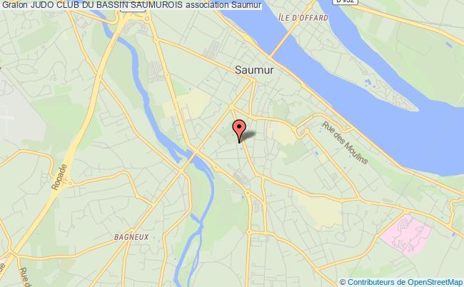 plan association Judo Club Du Bassin Saumurois