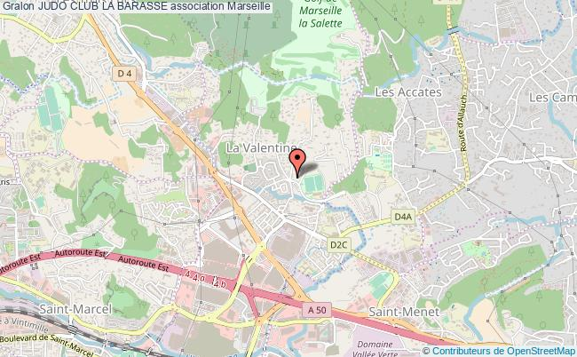 plan association Judo Club La Barasse