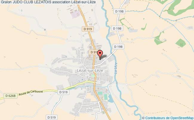 plan association Judo Club Lezatois