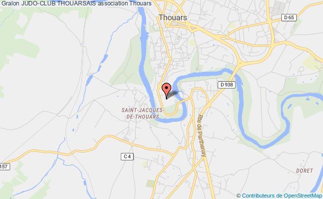 plan association Judo-club Thouarsais