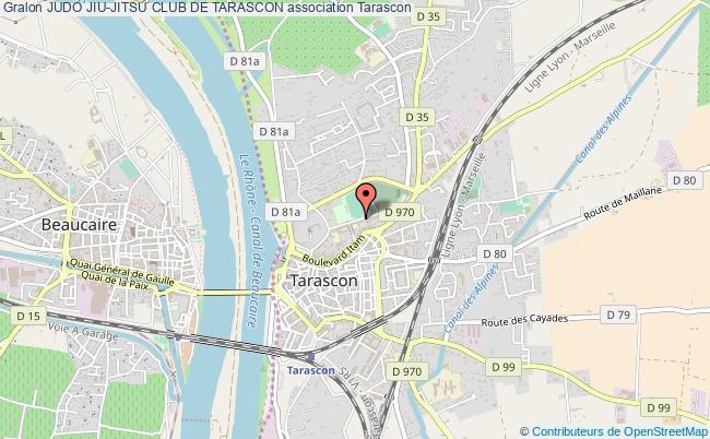 plan association Judo Jiu-jitsu Club De Tarascon