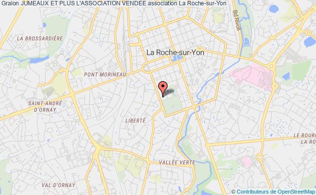 plan association Jumeaux Et Plus L'association Vendee La Roche-sur-Yon