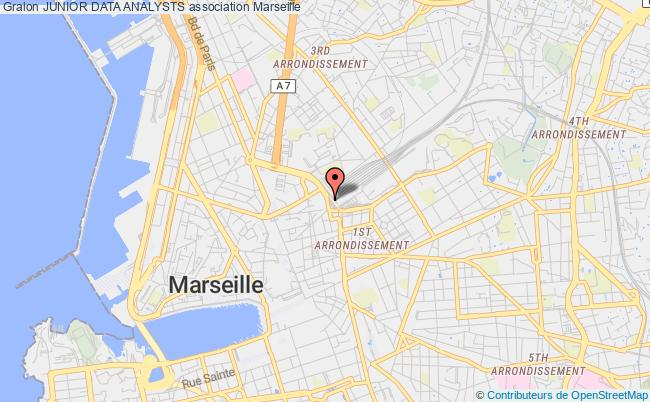 plan association Junior Data Analysts Marseille CEDEX 01